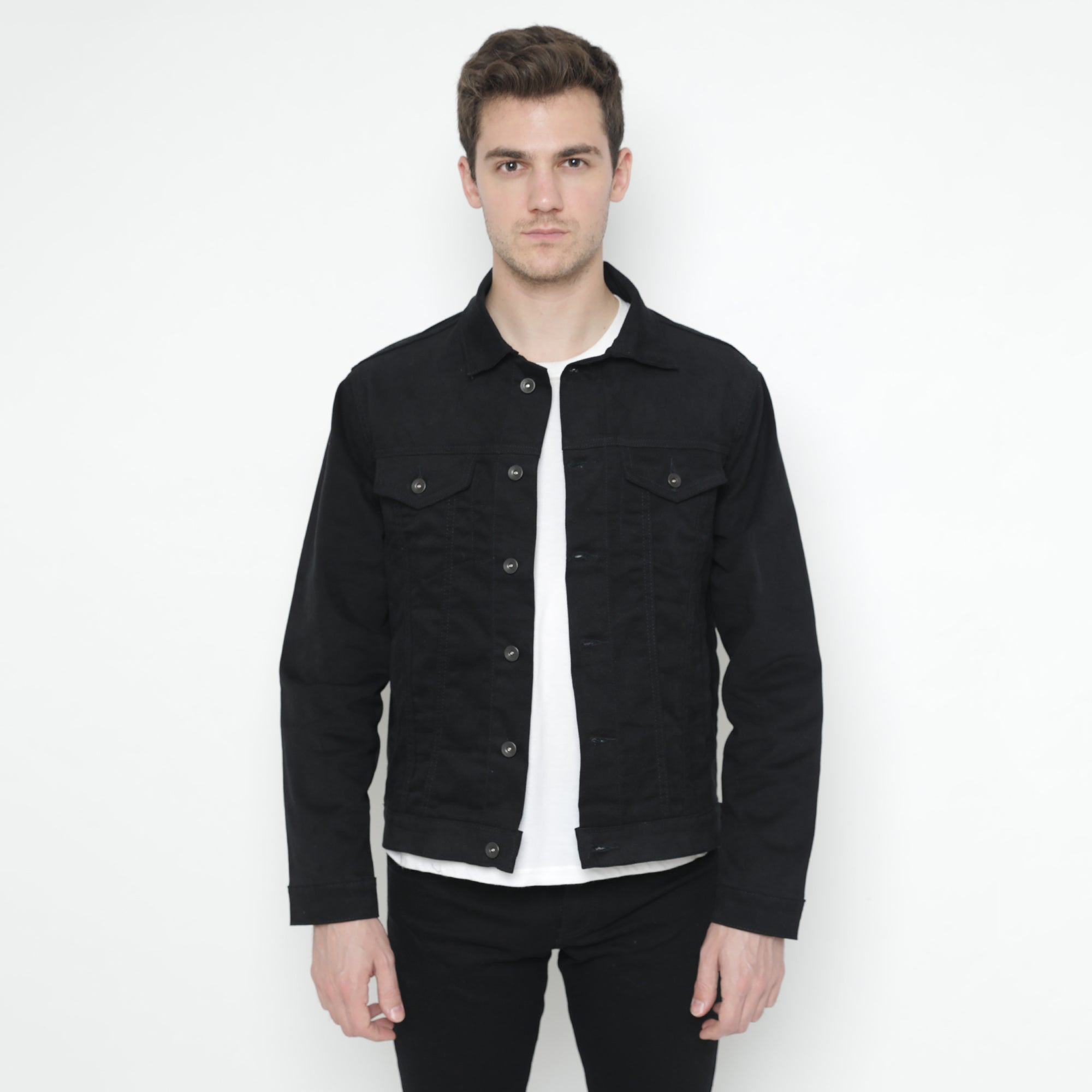 Bradley Black Denim Jacket
