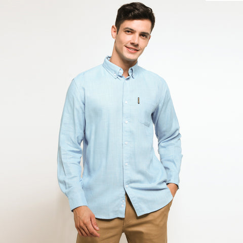 Aaron Baby Blue Shirt