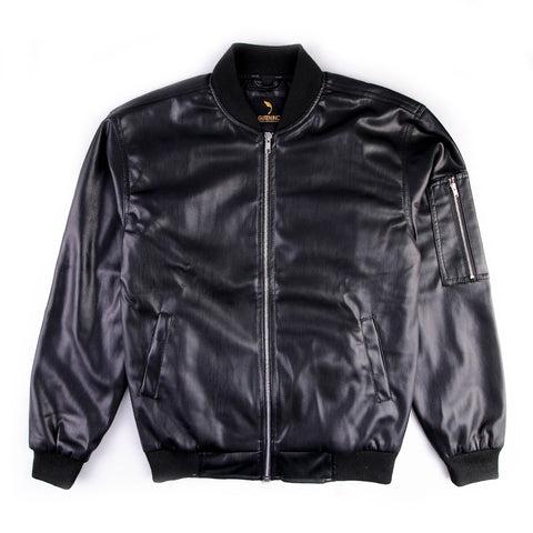 Marco Split Leather Jacket Bomber