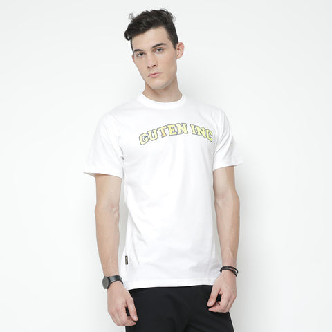 Collage White UV T-shirt