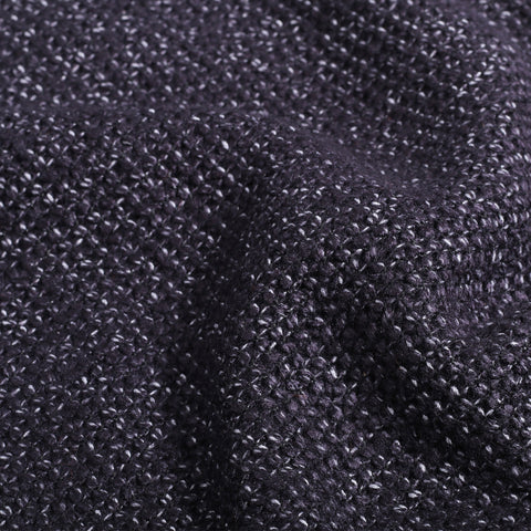 Mac Knitwear Purple Black Misty