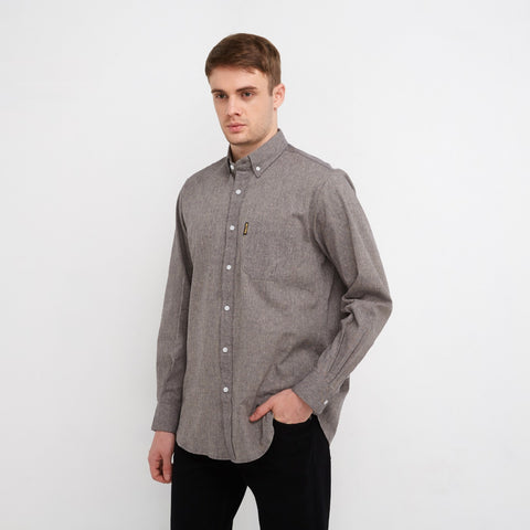 Freo LS Shirt Two Tone Navy