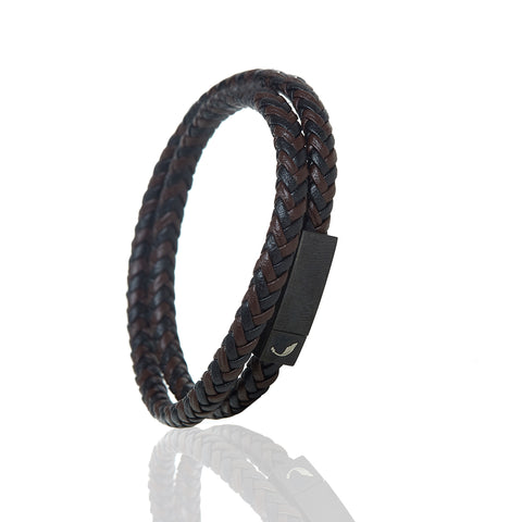 Two Layer Black Guten Bracelet