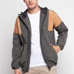 Bolt Windbreaker Mud Grey Bronze
