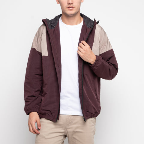Bolt Windbreaker Brown Khaki