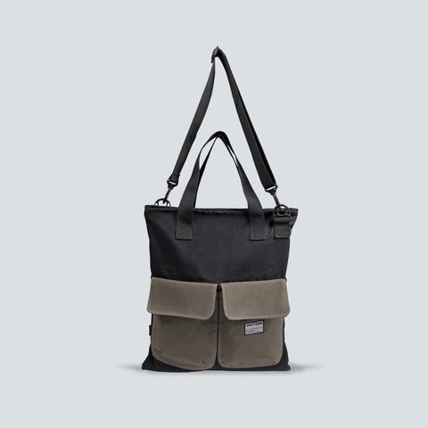 Windsor Totebag Black Green