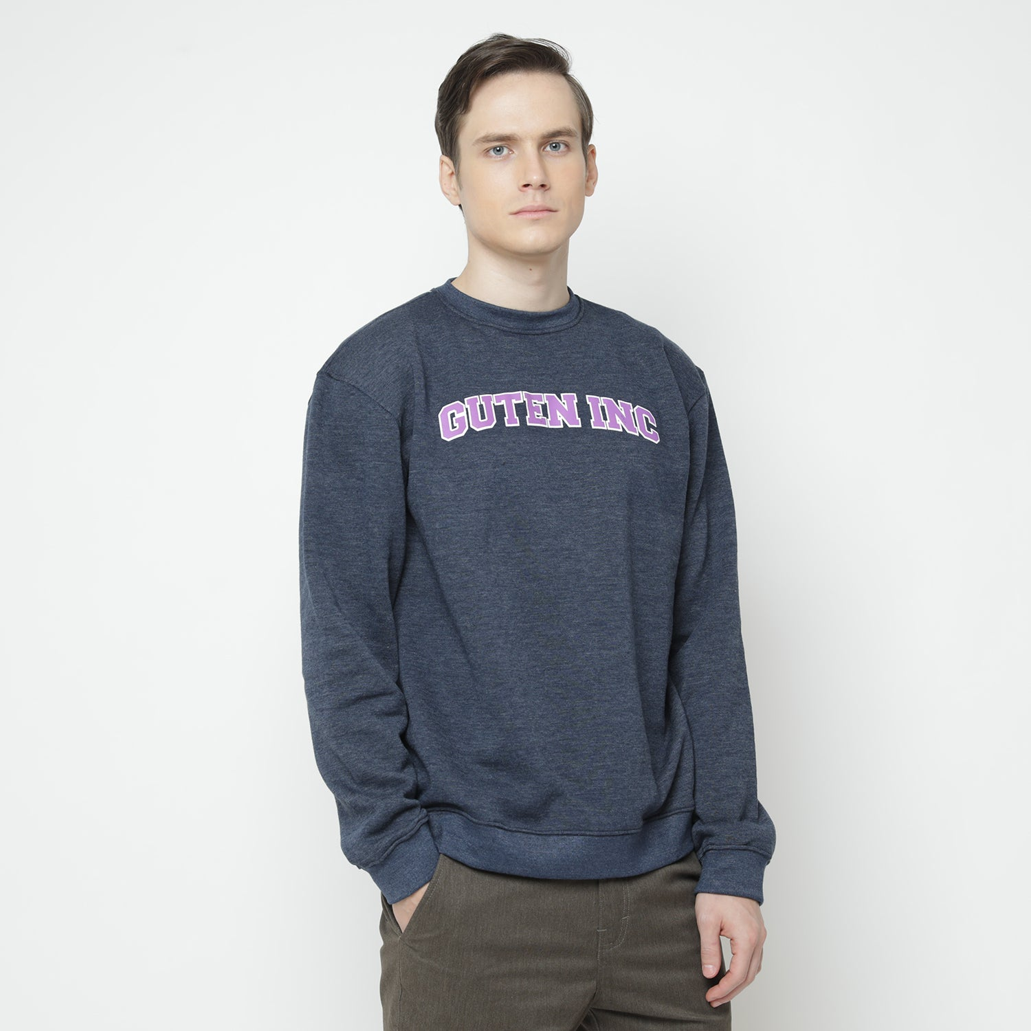 OG College Navy Crewneck Sweatshirt