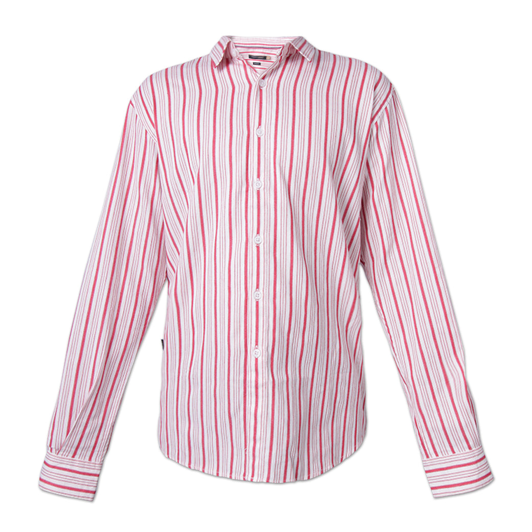 Chandon Red Striped Shirt