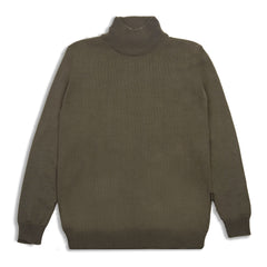 Geraldyn Turtleneck Army Geen