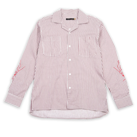 Patrice Brown Stripes Shirt