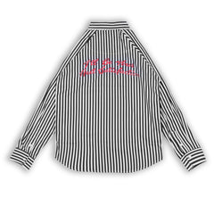Devin Black Stripes Shirt LS