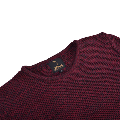 Arnold Knitted Sweater Maroon