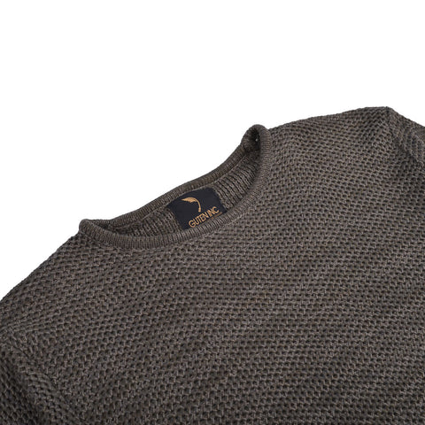 Arnold Knitted Sweater Army Green Shirt
