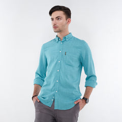 Aaron Light Green Shirt