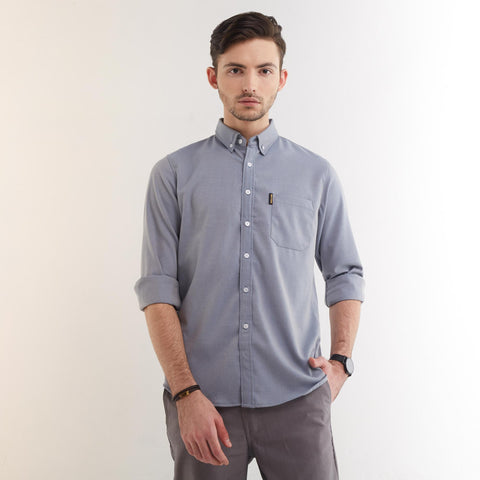 Freo LS Shirt Blue