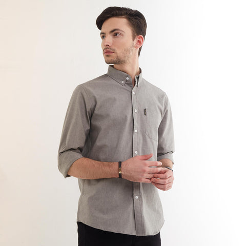 Freo LS Shirt Charcoal