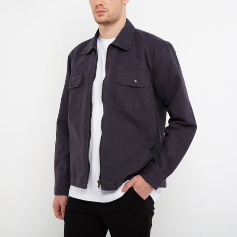 Bern Dark Grey Overshirt