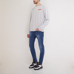Adrenalin Crewneck Misty Light Grey