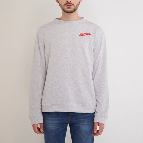 Adrenaline Crewneck Misty Light Grey