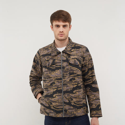 Atlas Brown Camo Parka