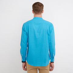 Elias Tosca Blue Shirt