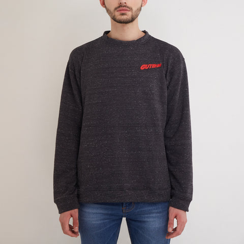 Adrenaline Crewneck Misty Dark Grey
