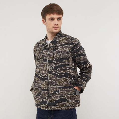 Atlas Grey Camo Parka