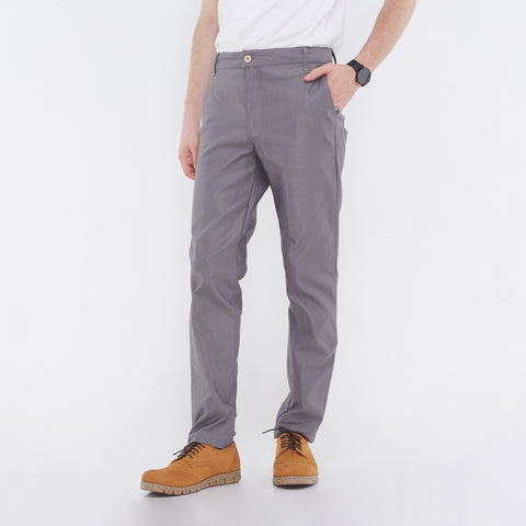Fabio Gray Chino Pants