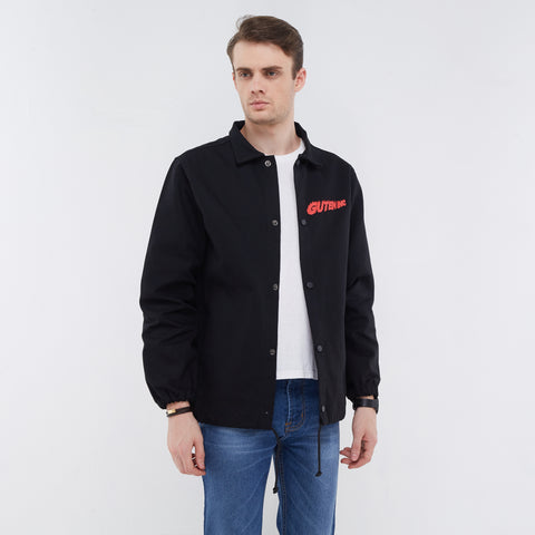 Florida Canvas Coach Jacket Black
