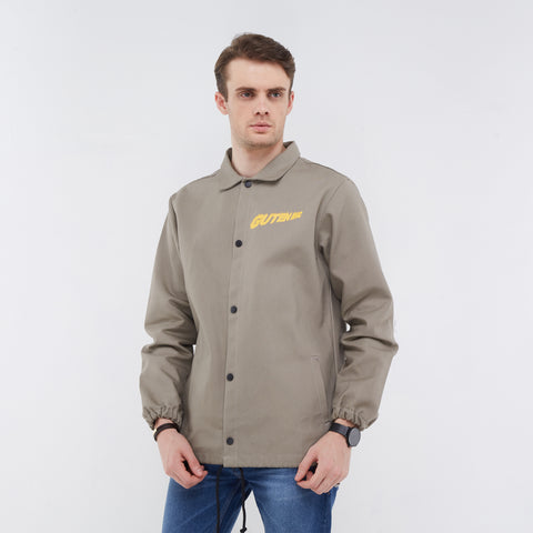 Florida Canvas Coach Jacket Grey