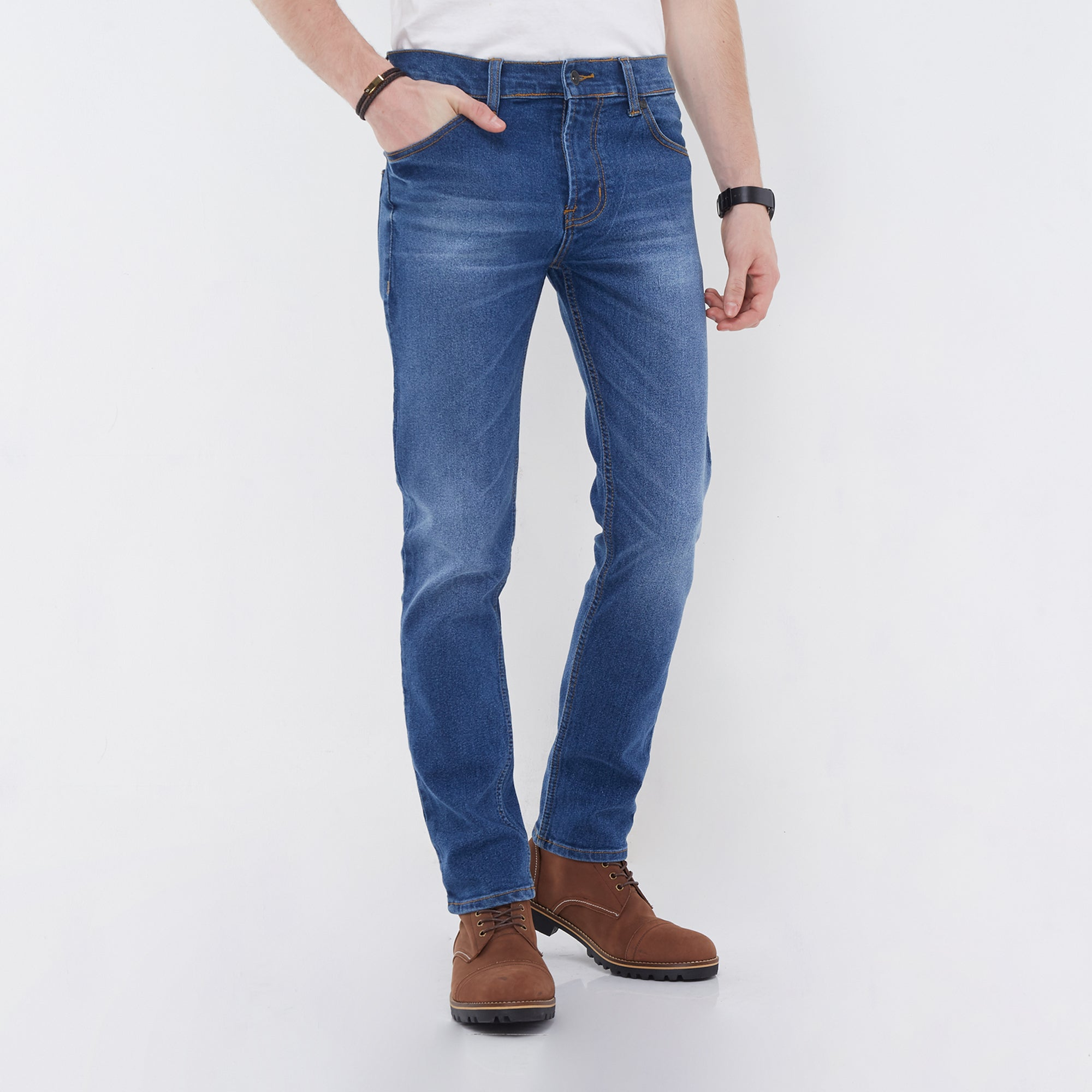 Norton Stretch Denim Blue Wash