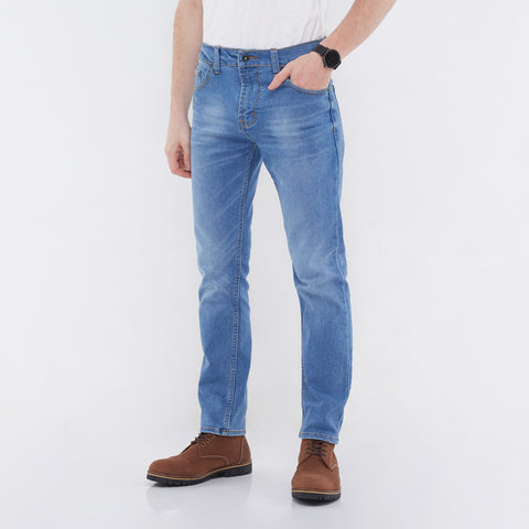 Norton Stretch Denim Light Blue Wash
