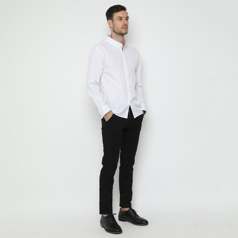 Hanz Motive White Shirt