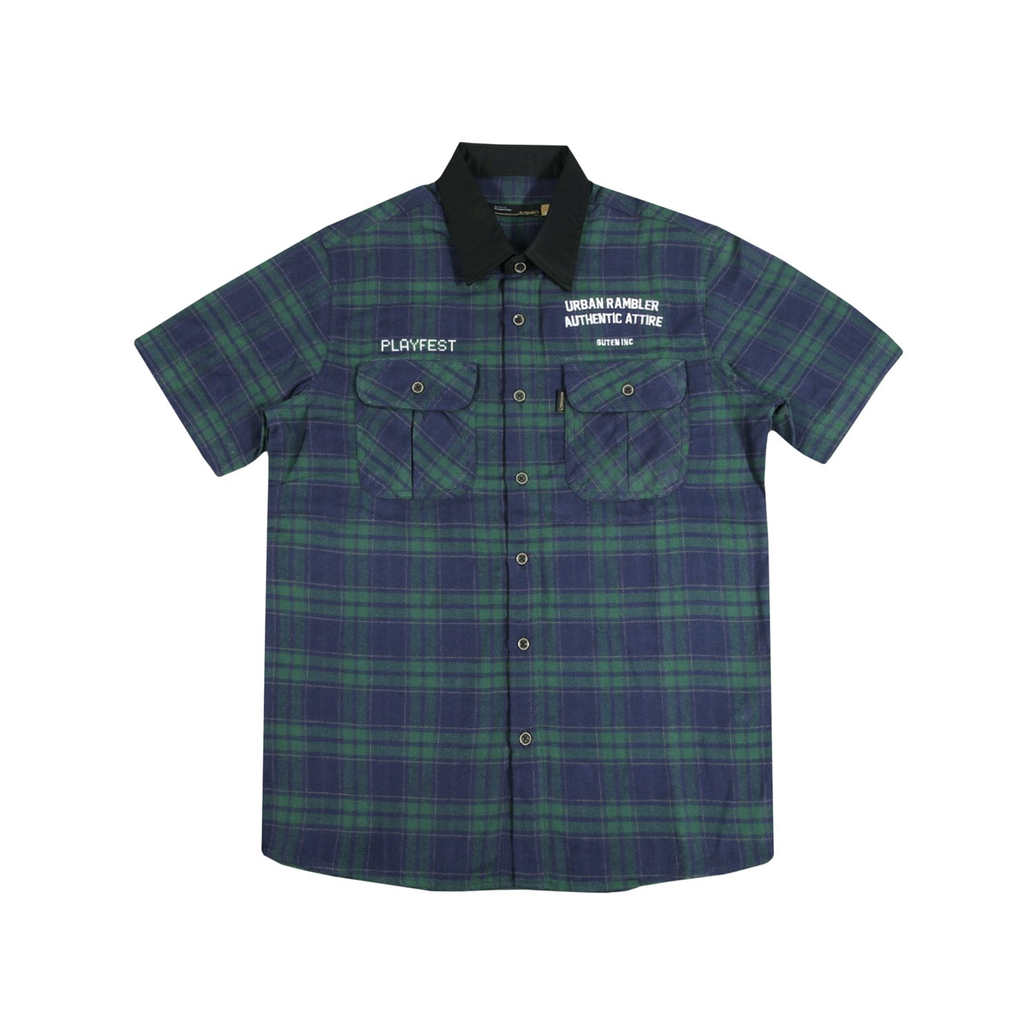 Playfest Navygreen Shirt
