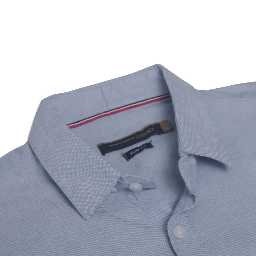 Eugene Blue Oxford Shirt