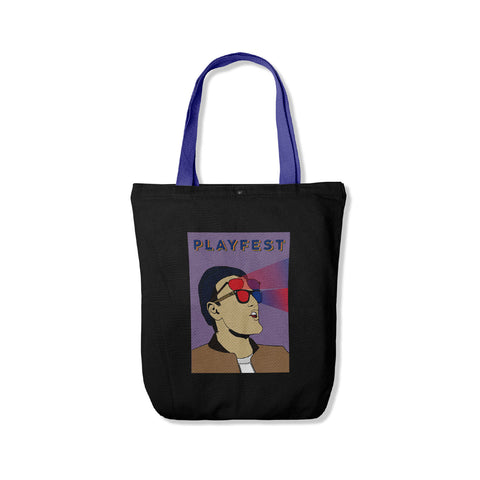 Playfest Gutenman Totebag Black