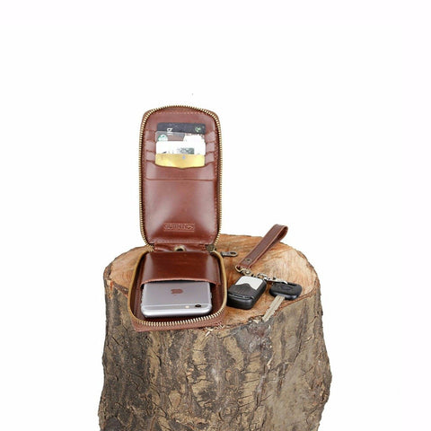 Supply Brown Phone-Wallet - GUTENINC ID