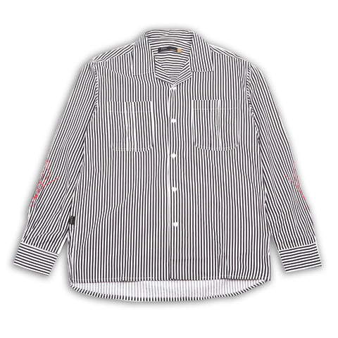 Patrice Black Stripes Shirt