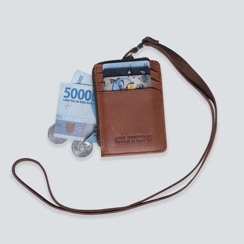Flux Card Holder Brown