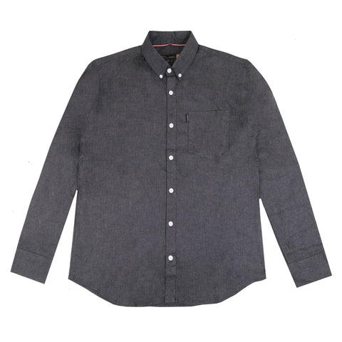 Berlin Two Tone Charcoal Shirt
