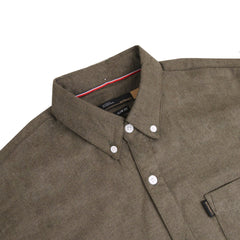 Berlin Two Tone Olive Shirt