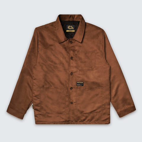 Crosby Suede Field Jacket Brown