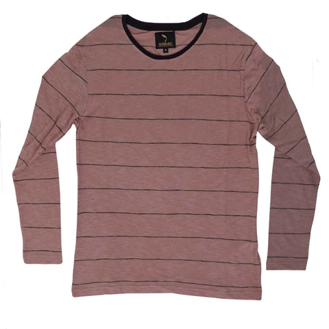 Chester Brown Thin Stripe LS - GUTENINC ID