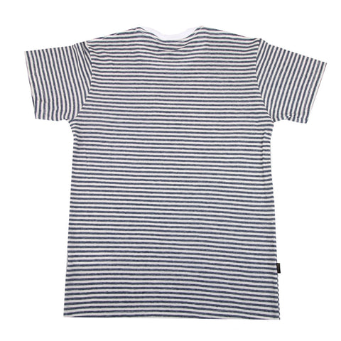Chester White Dark Blue Stripe - GUTENINC ID
