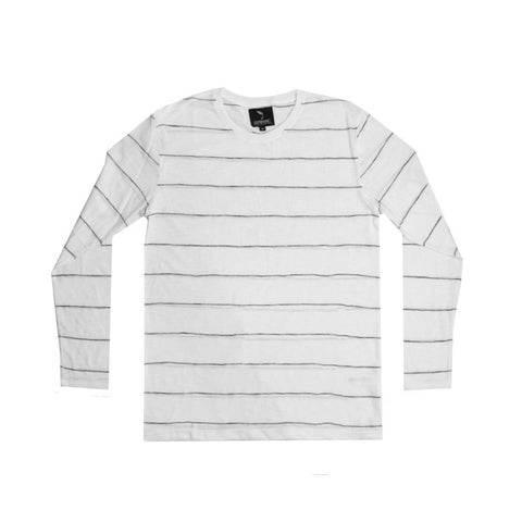 Chester White Thin Stripe LS - GUTENINC ID