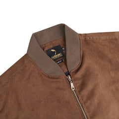 Chopper Suede Bomber Brown