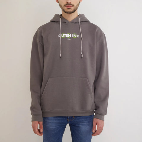 Deep Faith Solid Grey Hoodie