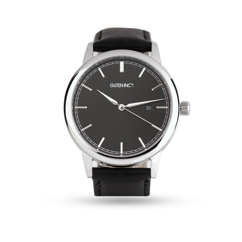 Vallery Watch Black Silver