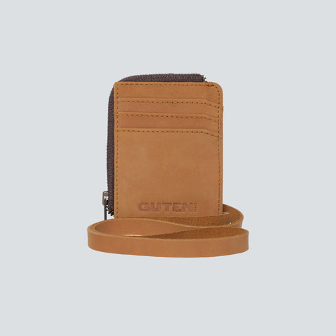 Flux Card Holder Tan