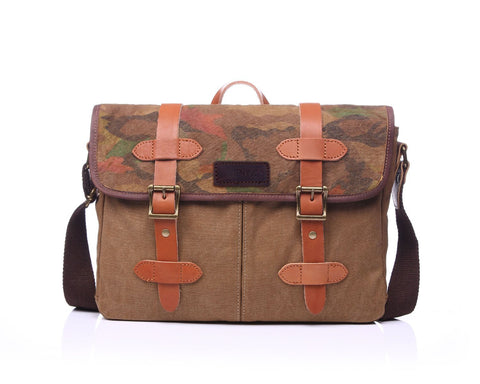 Edgar Messenger Bag Khaki - GUTENINC ID